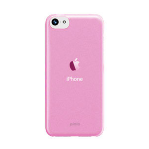 Pinlo Slice 3 Case for iPhone 5C - Transparent Pink