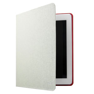 L.LA Case and Stand for iPad Air - White