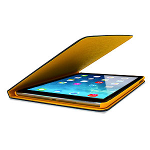 L.LA Case and Stand for iPad Air - Black / Gold