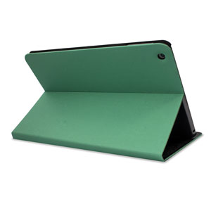 L.LA Case and Stand for iPad Air - Green / Black