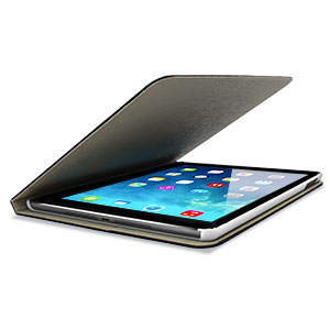 L.LA Case and Stand for iPad Air - Blue / White