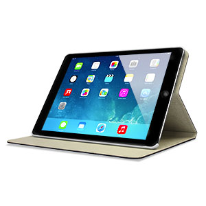 L.LA Case and Stand for iPad Air - Black