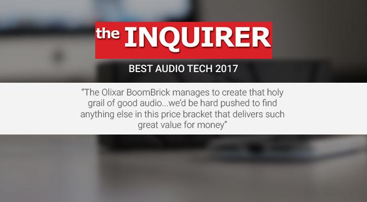 Enceinte Bluetooth Olixar BoomBrick – Noire