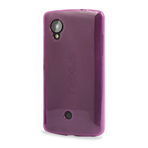 FlexiShield Case for Google Nexus 5 - Purple