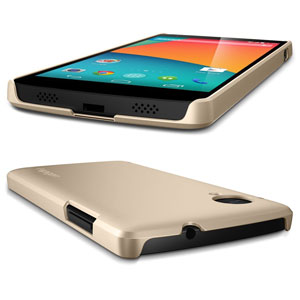 Spigen Ultra Fit Case for Google Nexus 5 - Champagne Gold