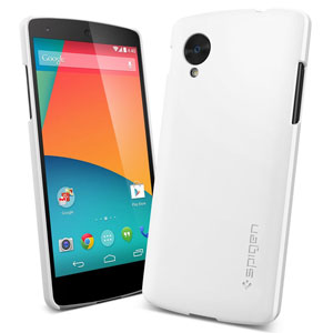 Spigen Ultra Fit Case for Google Nexus 5 - Smooth White