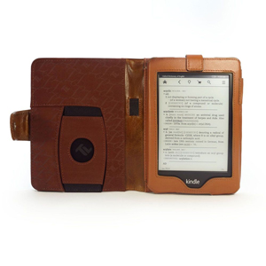 Tuff-Luv Kindle Embrace Plus Case - Brown