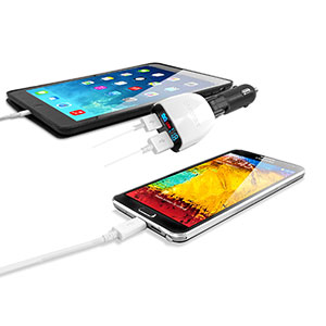 Capdase Dual USB Car T2 Charger and Monitor