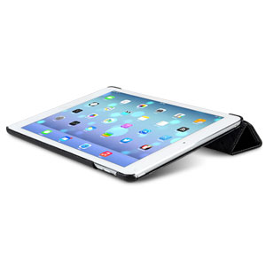 Melkco Slimme Premium Leather Cover for iPad Air - Black