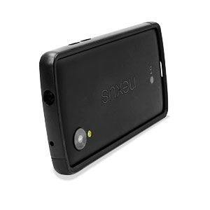 GENx Hybrid Bumper Case for Google Nexus 5 - Black / Black