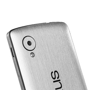 dbrand Textured Back Cover Skin for Google Nexus 5 - Titanium