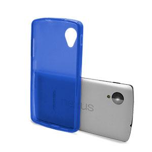 FlexiShield Case for Google Nexus 5 - Dark Blue