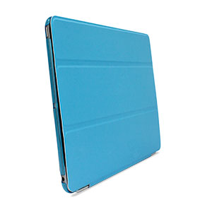Smart Cover with Hard Back Case for iPad Air - Blue