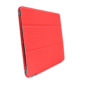 Smart Cover with Hard Back Case for iPad Air - Red
