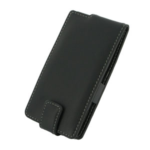 PDair Leather Flip and Slide Case - Samsung Galaxy S4 Mini