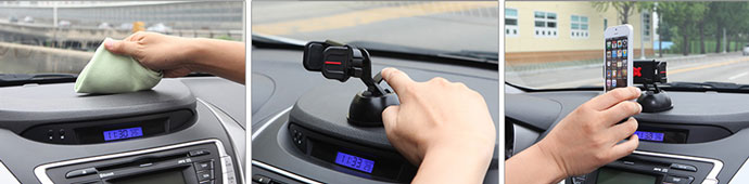 The Claw Universal Case Compatible Car Mount