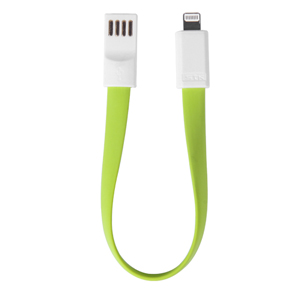 iPhone 5S / 5C / 5 USB Magnetic Data and Charging Cable - Green