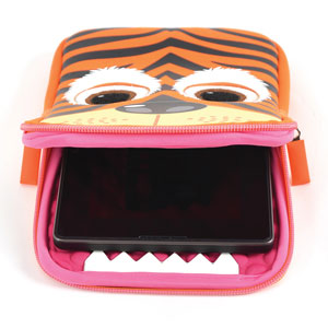 Tab Zoo Universal Tablet Sleeve 8 Inch - Tiger