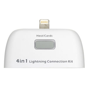 Kit 4 in 1 Connection Kit for iPad Air / iPad 4 / iPad Mini 2 / Mini
