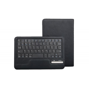 Kit Universal Bluetooth Keyboard Case for 7-8 Inch Tablets - Black