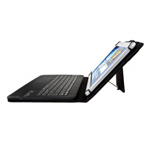 Kit Universal Bluetooth Keyboard Case for 9-10 Inch Tablets - Black