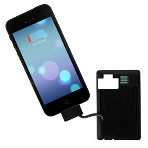 PowerCard Slim Power Bank Lightning Charger for Apple Devices - 400mAh