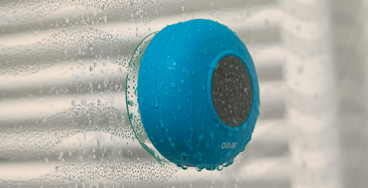 Olixar AquaFonik Bluetooth Shower Speaker - Blue