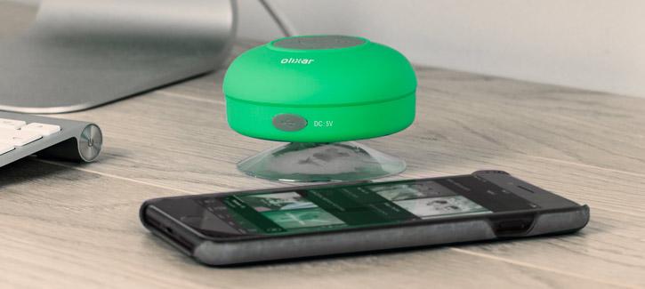 Enceinte Bluetooth Olixar AquaFonik pour la Douche - Verte