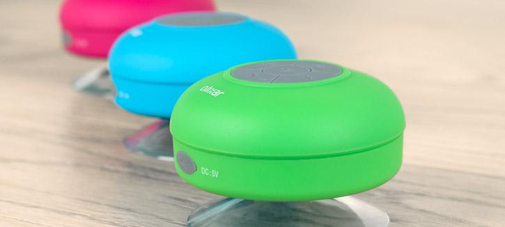 Olixar AquaFonik Bluetooth Shower Speaker - Green