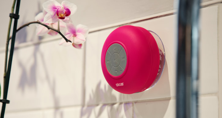 Bluetooth Shower Speaker - Pink
