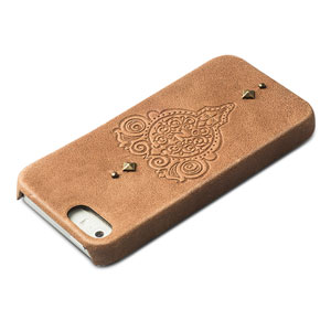 Zenus Prestige Vintage Leather Bar for Samsung Galaxy Nexus - Brown
