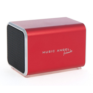 Music Angel Friendz Portable Stereo Speaker - Pink