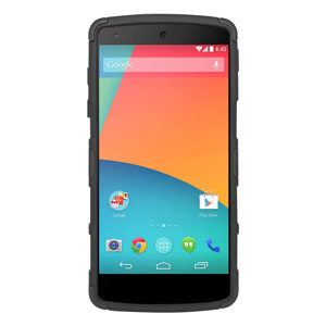 Seidio Dilex Case for Google Nexus 5 with Kickstand - Black