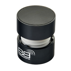 BaseBoomz Portable Bluetooth Speaker - Black
