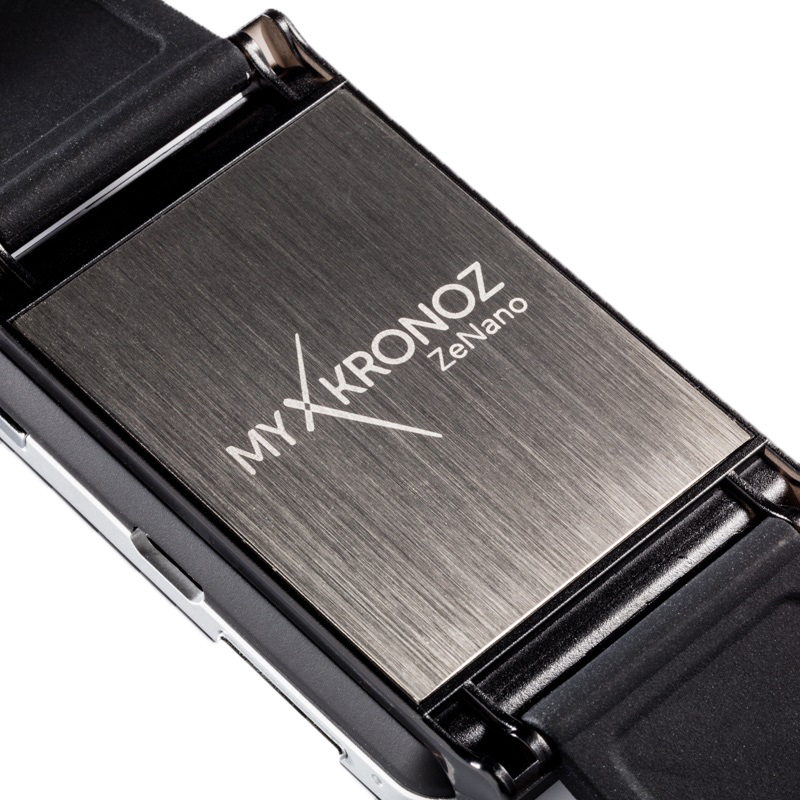 MyKronoz ZeNano BlueTooth Smartwatch - Black