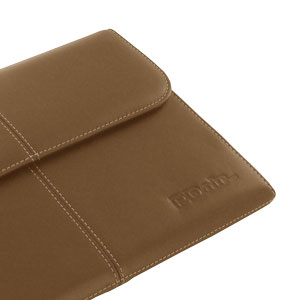PDair Leather Business Case for Galaxy Note 10.1 2014  - Brown