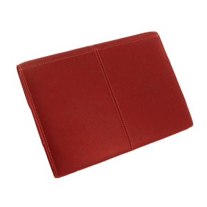 PDair Leather Business Case for Galaxy Note 10.1 2014  - Red