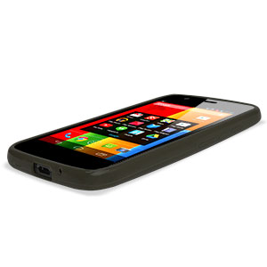 Flexishield Case for Moto G - Smoke Black
