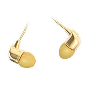 Happy Plugs In-Ear Earphones Deluxe Edition - Gold