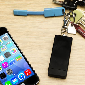 Juiceful 3 in 1 Key Chain for Apple 30 Pin Devices