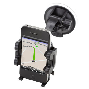 Kit Bluetooth Voiture Buddy Mains libres avec Support - Noir