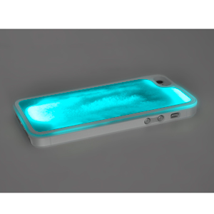 Kuke Glow in the Dark case for iPhone 5S / 5 - Blue