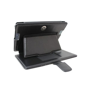 Aquarius Protexion Pro Wallet Case for Kindle Fire HDX 7 - Black