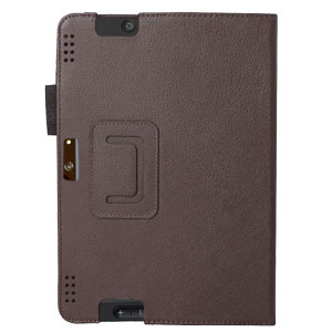 Aquarius Protexion Folio Stand Case for Kindle Fire HDX 8.9 - Brown