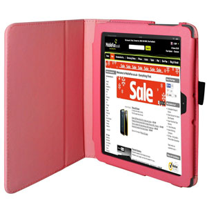 Aquarius Protexion Folio Stand Case for Kindle Fire HDX 8.9 - Hot Pink