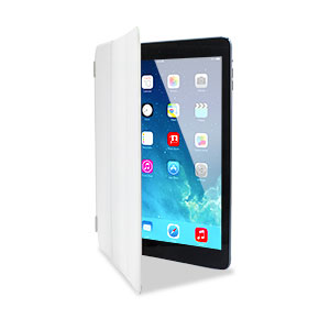 Smart Cover Case for iPad Air - White
