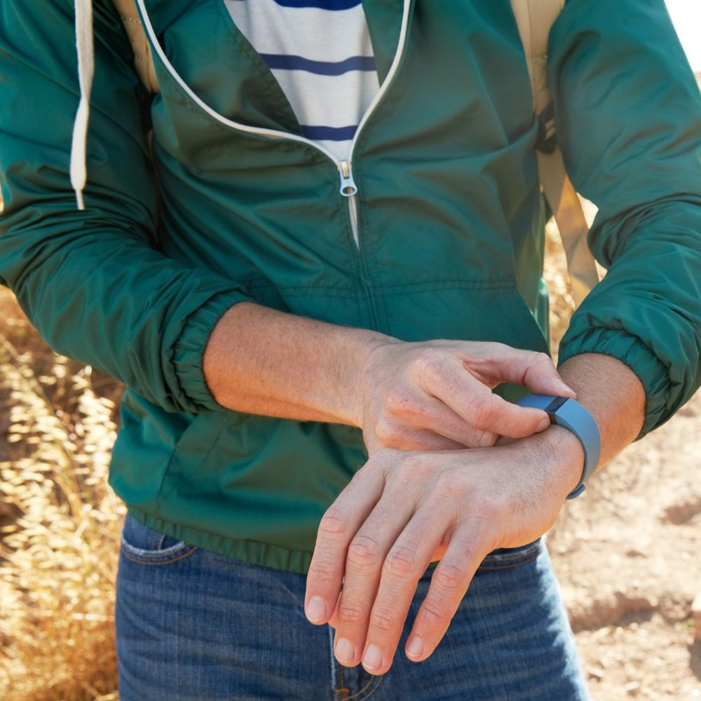Fitbit Force Wireless Fitness Tracking Wristband - Slate