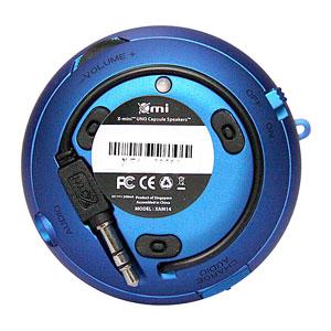 XMI X-Mini II Mini Speaker - Silver