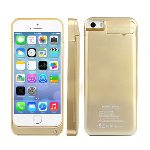 Power Jacket 2200mAh for iPhone 5S / 5 - Gold