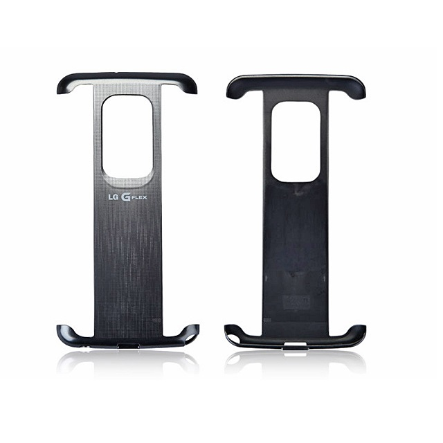 LG G Flex Curve Vest Case - Silver